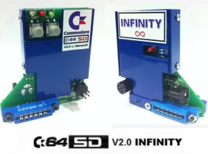 C64SD v2.0 Infinty by Manosoft